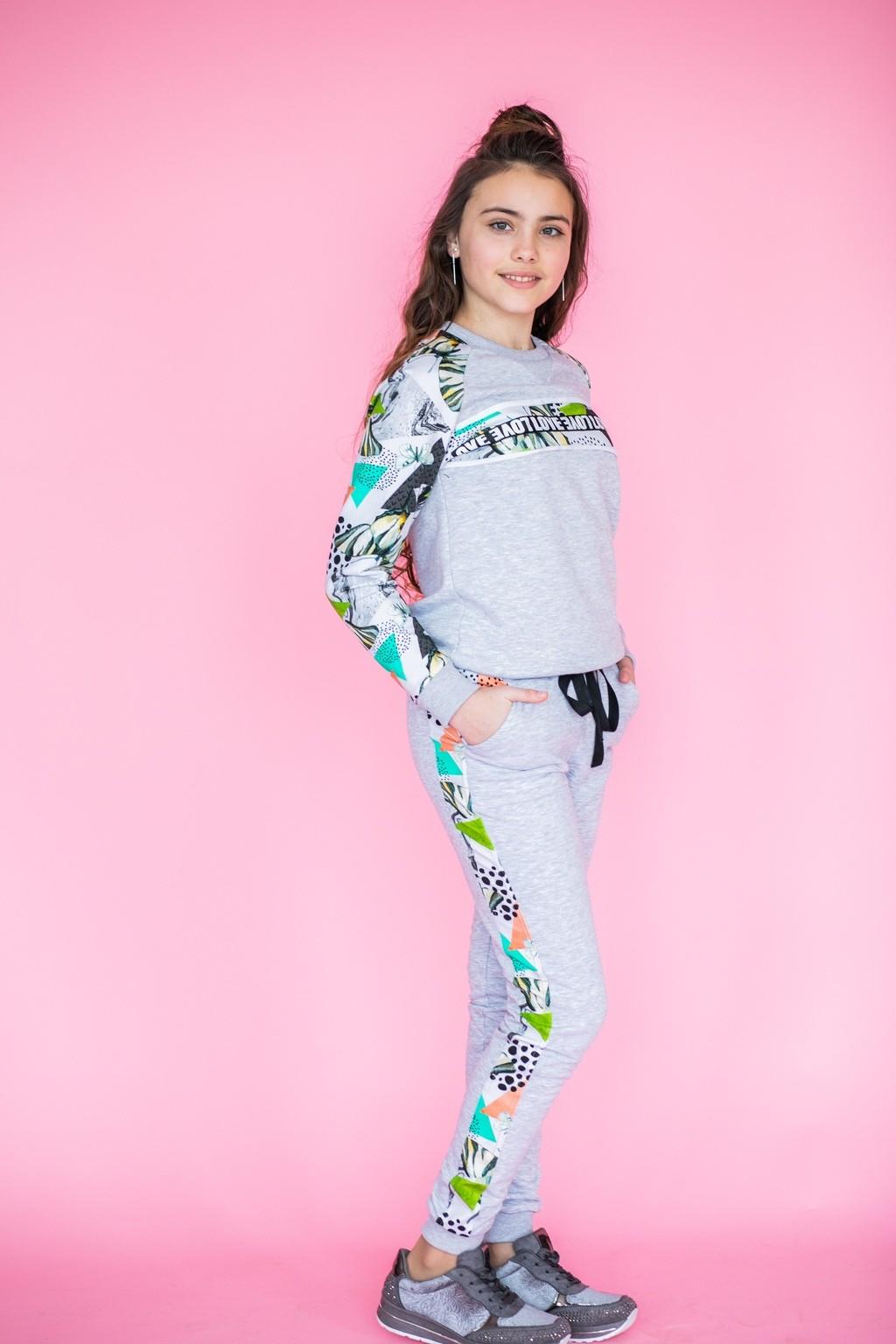 Спортивний  костюм Animal для дівчаток (підлітків) 7-15 років