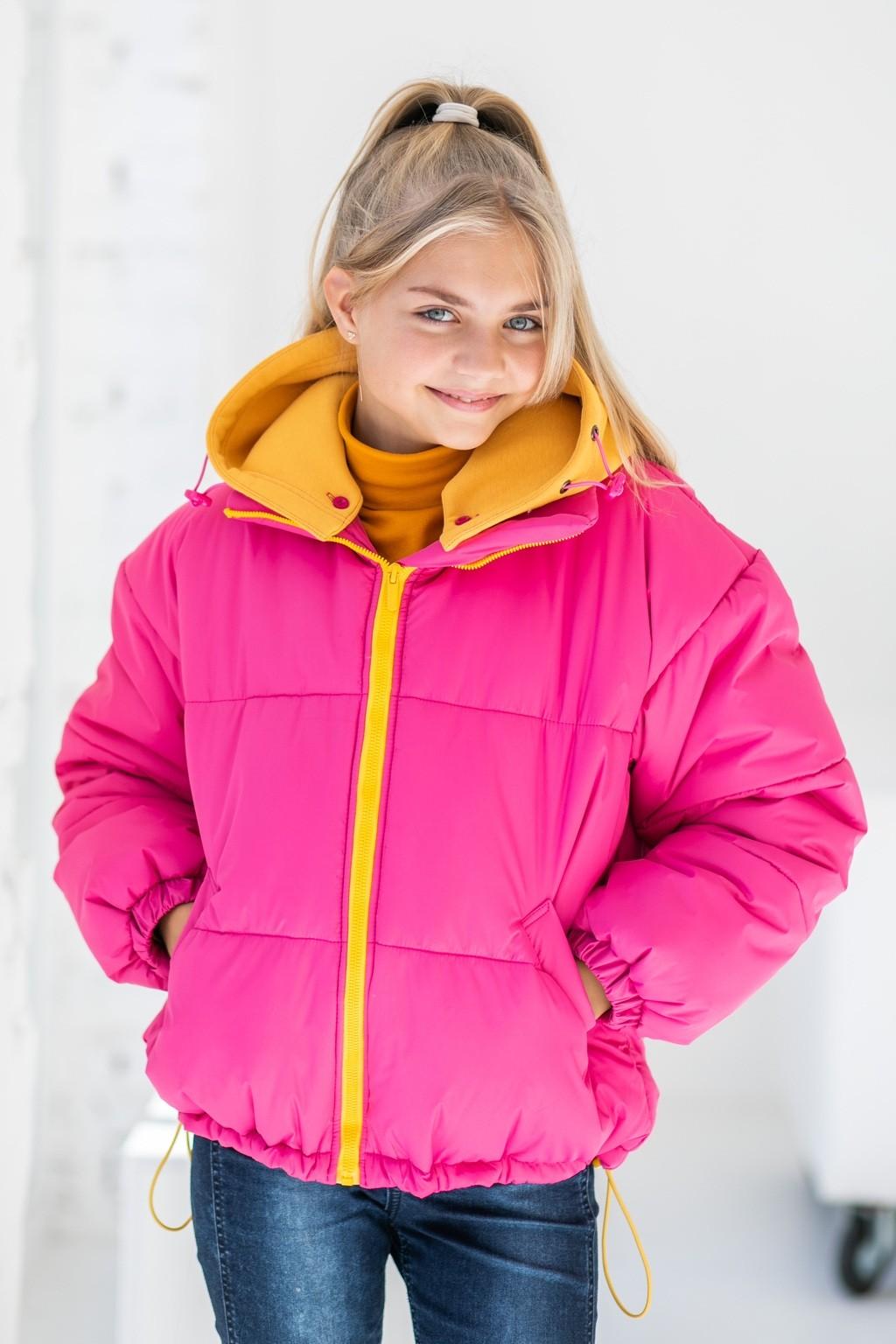 Куртка Rosy для дівчаток - підлітків (осінь-зима)