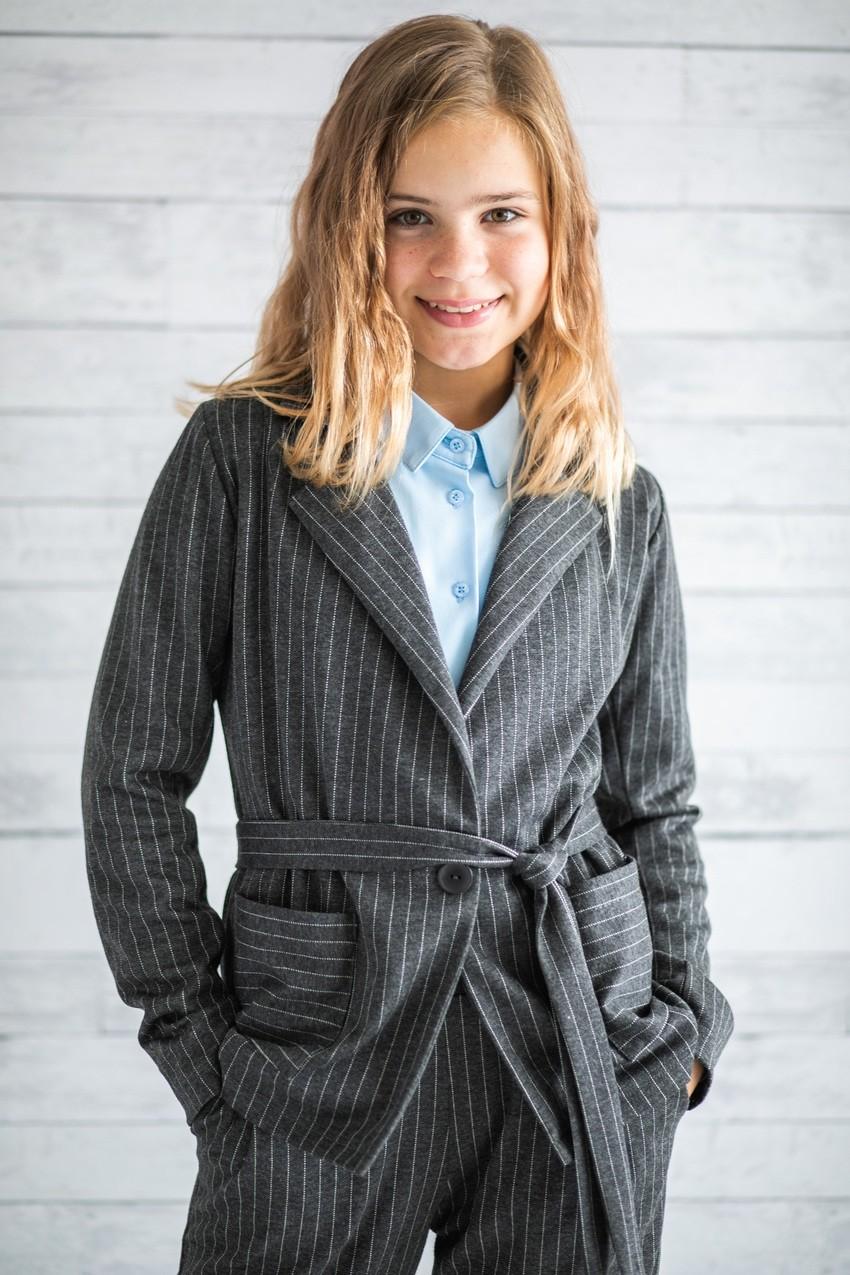Піджак для дівчаток (підлітків) 7-15 років