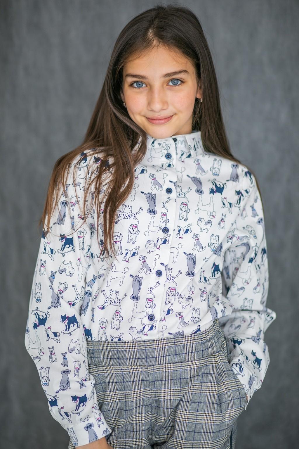 Сорочка Doggy для дівчаток (підлітків) 7-15 років