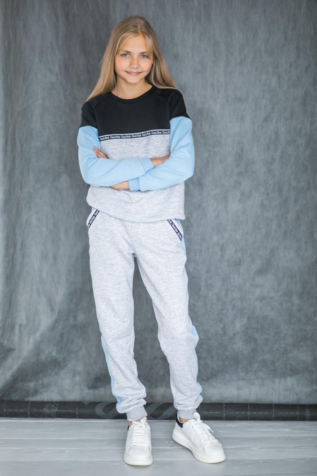 Спортивний костюм Blue для дівчаток (підлітків) 7-15 років