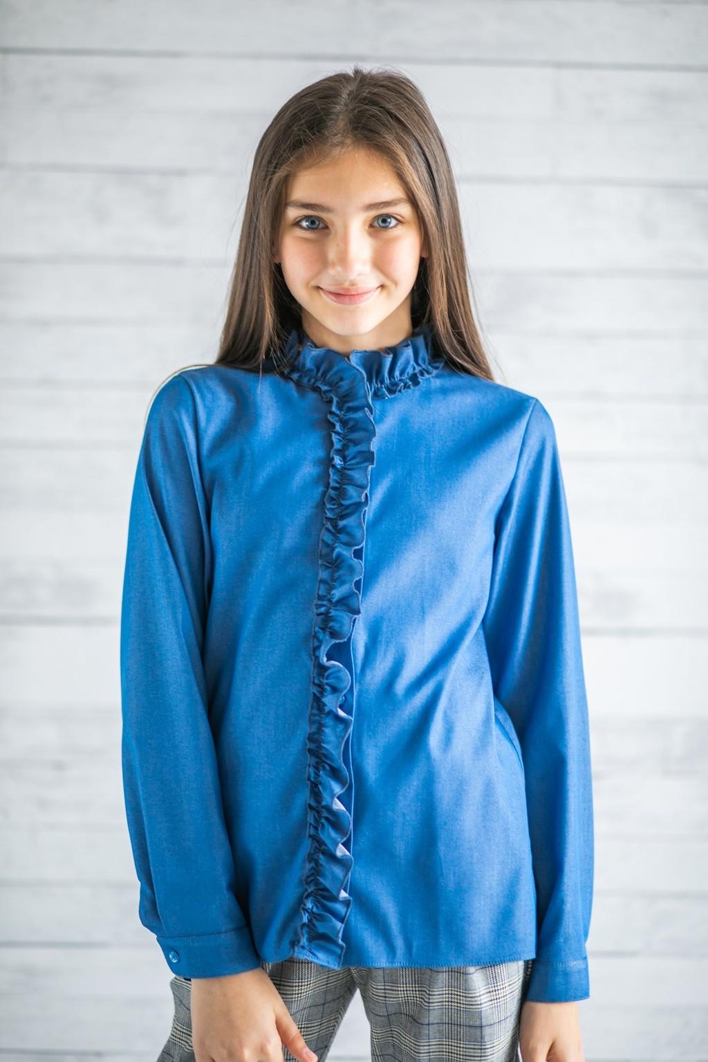 Блуза для дівчаток (підлітків) 7-15 років
