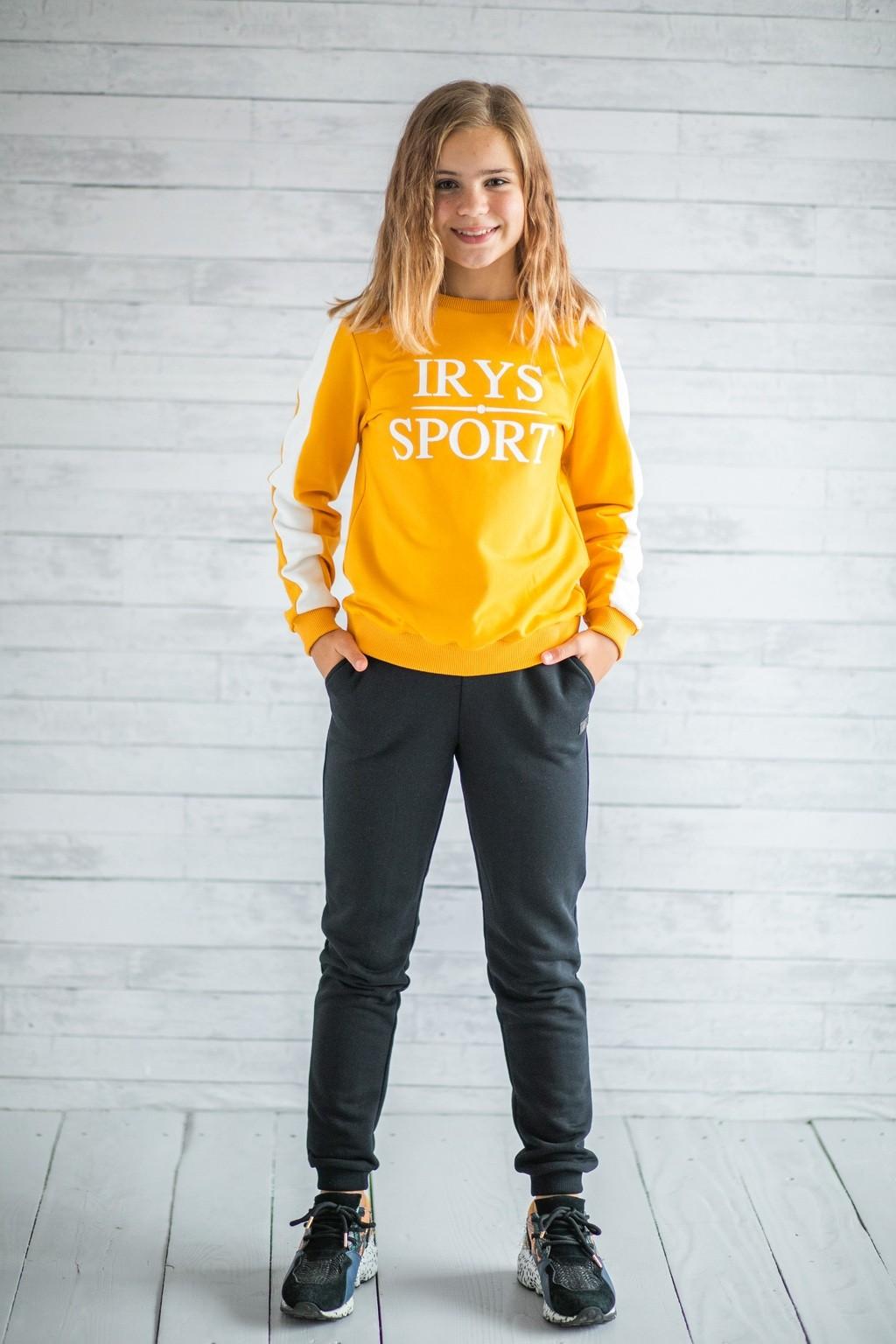 Спортивний костюм Yellow для дівчаток (підлітків) 7-15 років