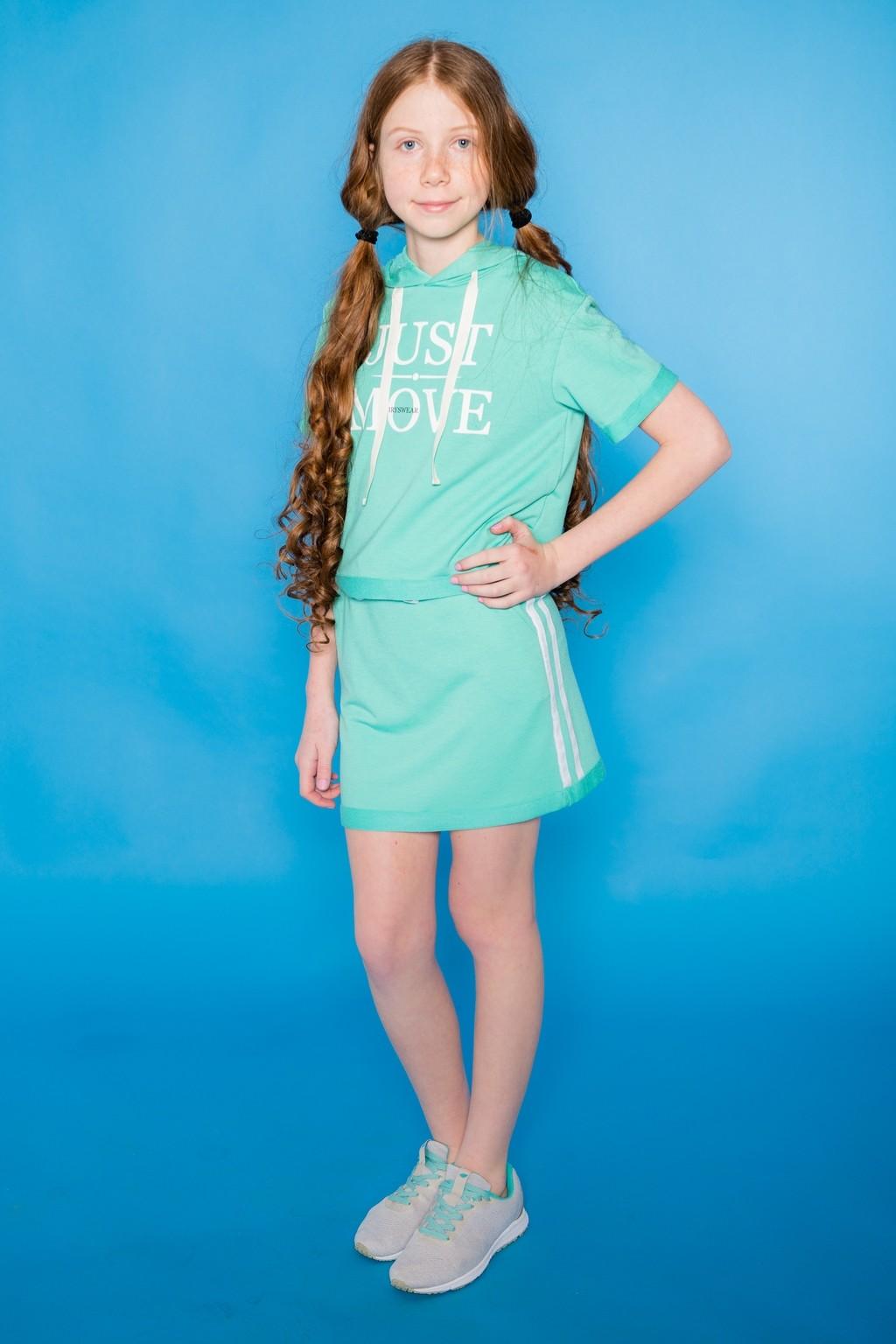 Комплект Just moove зелений для дівчаток (підлітків) 7-15 років